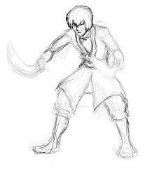zuko from avatar with dual dao swords wip by billiejean485 on