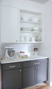 bright white kitchens emulate your own after view gallery two toned kitchen cabinets you can have white