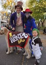 Oompa Loompa Halloween Costumes Adults Family Costume Pregnant Willy Wonka Oompa Loompa Halloween