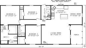 Three Bedroom Two Bath House Plans Absolutely Smart 20 X 60 House Plans 14 Planshousehome Ideas