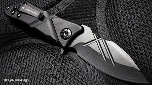 Unique Knives Guardian Tactical Exilis Knife Vinjabond