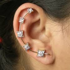 ear cuff online buy ear cuffs online exclusive earrings designs with stones