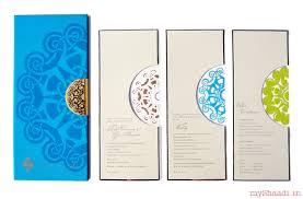 simple indian wedding invitations indian wedding cards sles myshaadi in india wedding card