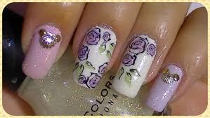 nail art maxresdefault rose gold nail art colored tutorial salon