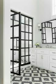Black Shower Door Gridscape Series Coastal Shower Doors
