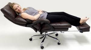 Office Chair Recliner Reclining Office Chairs With Footrest Home Design Ideas