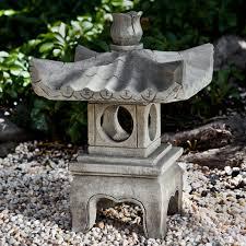 cania international antique pagoda garden statue hayneedle