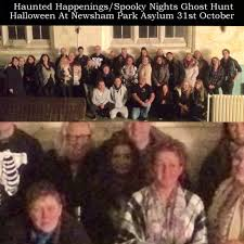 reddit halloween horror nights did a ghost take part in this group photo on a halloween ghost