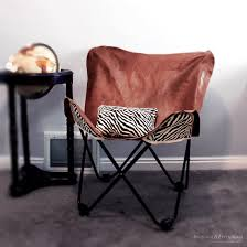 butterfly chair cover diy leather butterfly chair cover monthly diy challenge