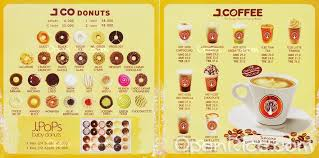 Coffe J Co j co donuts coffee menu donut bakery cake in batam