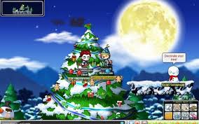 Decorate The Christmas Tree Maplestory by This Is Not Florina Beach