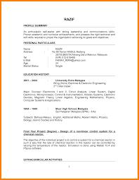 best soft skills for resume 8 best cv samples for fresh graduates job apply letter