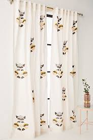 Smocked Burlap Curtains Curtains Drapes Window Treatments Anthropologie