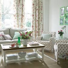 Country Style Curtains For Living Room Country Living Room Appears Appealing Interior Living Room Table