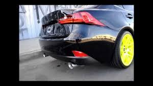 lexus is350 f sport kw 2014 lexus is fsport joe z series full catback exhaust youtube