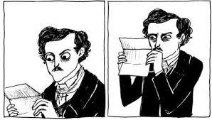 Edgar Allan Poe Meme - hark a parody or is it hark a vagrant know your meme