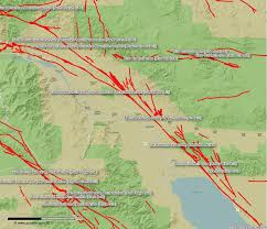 san francisco fault map palm springs fault map san andreas coachella valley fault map