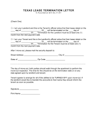 Client Termination Letter 30 Day Notice To Vacate Letter Best Business Template