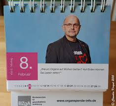 dickydackel organspende sprüche bilder dickydackel 366 tag leben der organspende kalender 2016 ist da