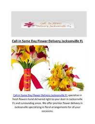 flower delivery jacksonville fl call in same day flower delivery in jacksonville fl by call in