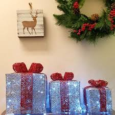 Present Decoration Lighted Gift Boxes Wayfair