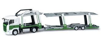 camion porta auto herpa camion trasporto auto motortransport scania r 09 scala 1