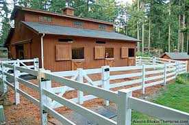 Little Barns How To Size Your Horse U0027s Paddock Smart Horse Keeping