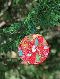 ornament gift diy quilted christmas ornament gift card holder