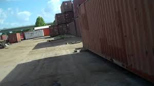 storage container garage building youtube