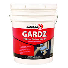 Zinsser Adhesive Remover by Zinsser 5 Gal Gardz Clear Water Base Drywall Primer And Problem