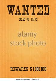 wanted poster template stock photos u0026 wanted poster template