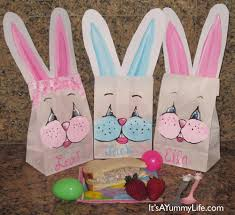 easter bags easter lunch bags it s a dot