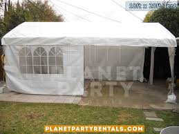 white tent rentals 10ft x 20ft tent