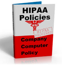 hipaa computer policy package