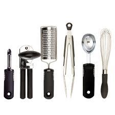 6 piece kitchen essentials set oxo