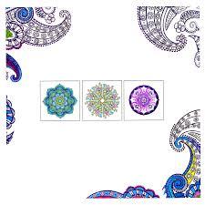 aliexpress buy 1 pcs 24 pages mandalas free coloring books