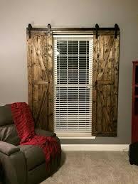 Shutter Interior Doors Best 25 Door Window Covering Ideas On Pinterest Rustic Valances