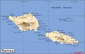 samoa in world map hrw world atlas samoa