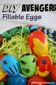 fillable easter eggs marvel easter basket and diy fillable eggs eclectic