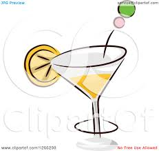 martini olive vector martini lemon clipart explore pictures