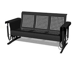 Retro Glider Sofa by Localpatio Goes Back In Black We U0027ll Have This Much Requested