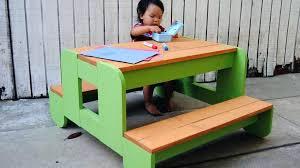 kids picnic table plans childs picnic table st outdoor picnic table for kids children kids