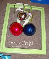doodlecraft christmas ornament frame wreaths