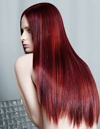 light hair colors for dark hair of the most striking dark red hair color ideas