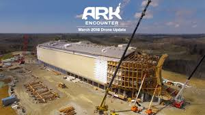 ark encounter drone footage march 2016 youtube