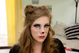 lipstick u0026 chiffon halloween cat costume tutorial
