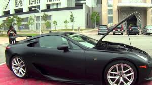 lexus lfa interior lexus lfa trd edition youtube