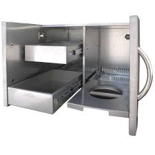 Outdoor Kitchen Cabinets Kits by Luxury Outdoor Kitchen Stainless Steel Ideas Including Cabinet