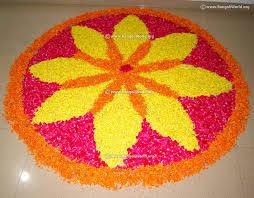rangoli decoration onam flower rangoli designs collection traditional kerala