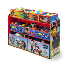 Toy Organization by Amazon Com Nickelodeon Paw Patrol Deluxe Multi Bin Toy Organizer